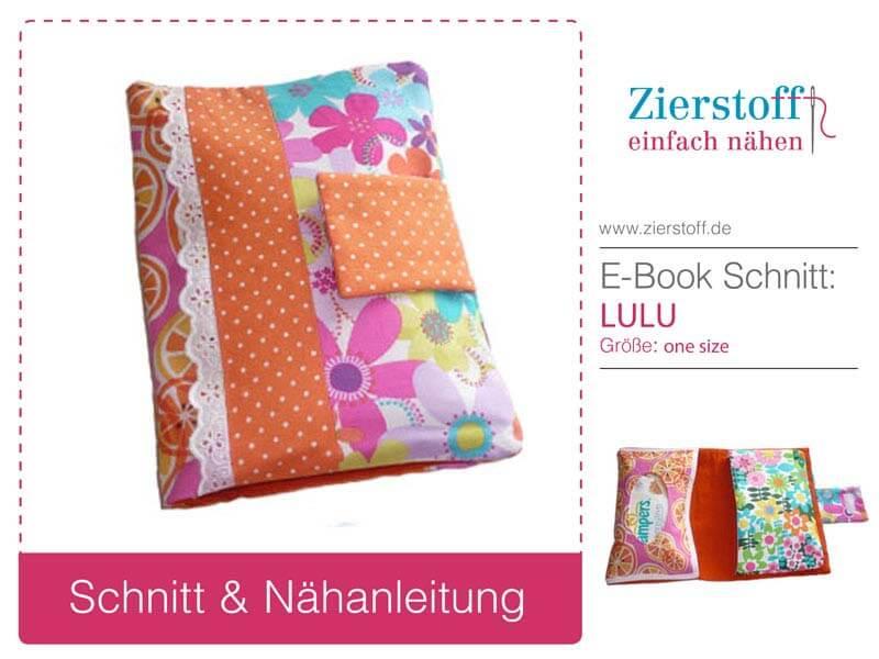 """Wickeltasche mit Pattarina Zuschnitt """"LULU"""""""