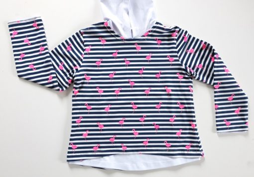 Schnittmuster Shirt Jerseyshirt Kindershirt nähen Rosa1