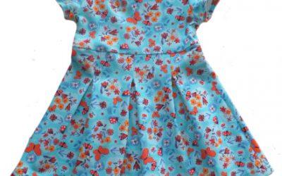 Unser neues Schnittmuster vom Kleid Pia….
