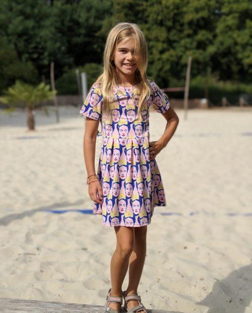 Schnittmuster Kinderkleid Pia nähen lernen einfach1