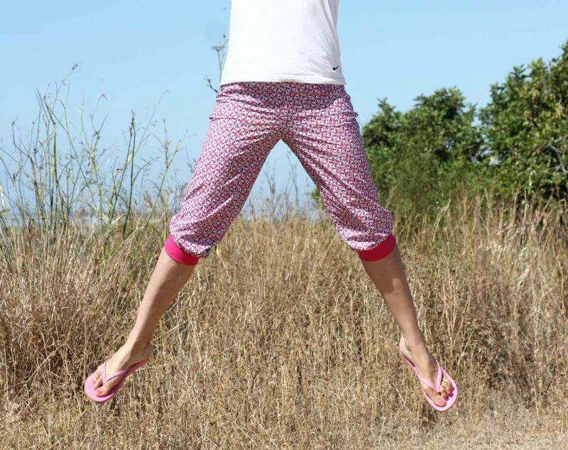 Hose Nicki Zierstoff Schnittmuster Damenhose