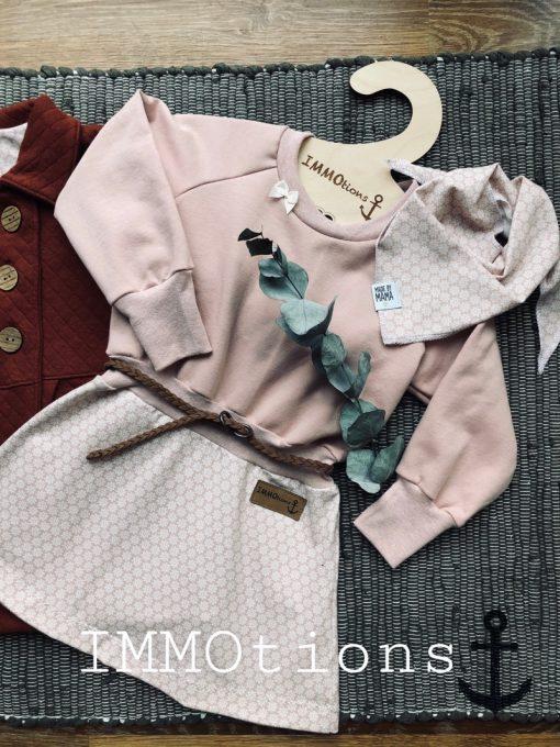 Zierstoff Schnittmuster Kleid Rike Kinderkleid1