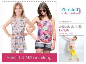 Anleitung und Schnittmuster Tanja 62-104