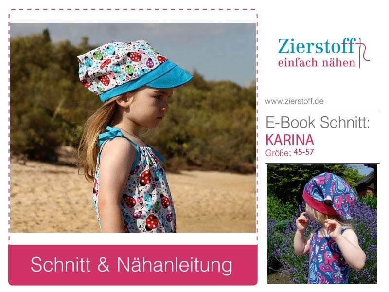 """Kopftuch mit Schirm oder Bündchenbund """"KARINA"""", Gr. 45-57"""