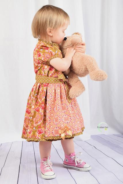 Schnittmuster Theresa Baumwolle Kinderdirndl - 25