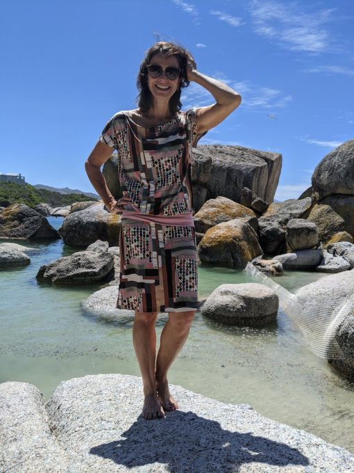 Schnittmuster Strandkleid Junia