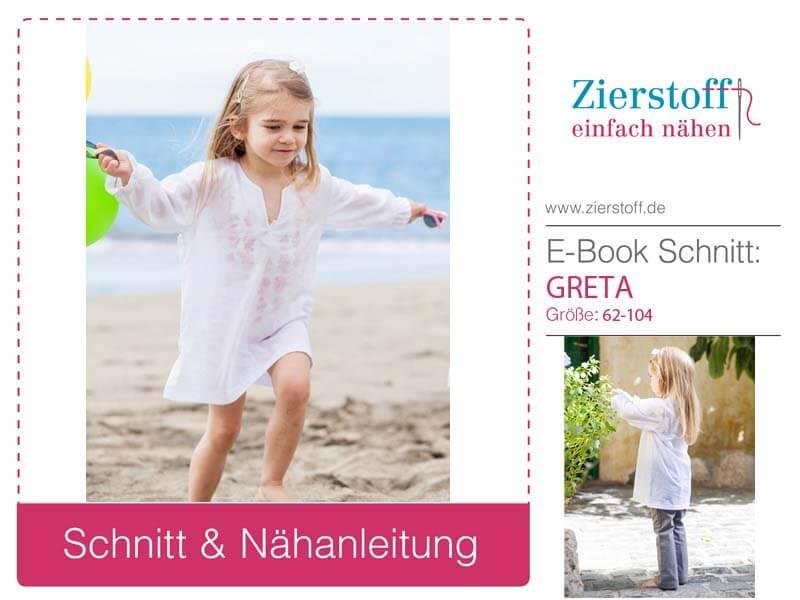 Tunika Greta, jetzt auch für die Kleinen….