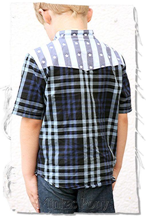 Schnittmuster Hemd Jungen nähen lernen2