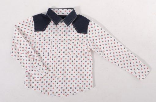 Schnittmuster Kinderhemd Reto Jungenhemd3