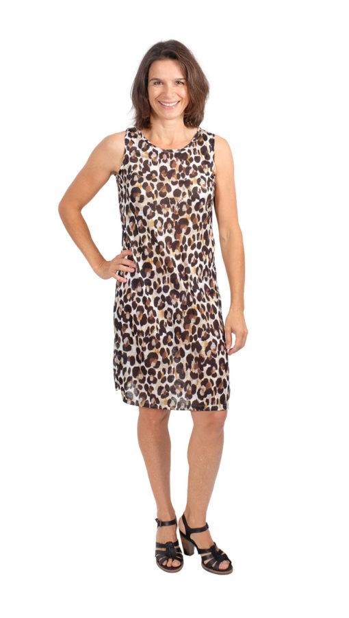 Schnittmuster Kleid Tanja Tank Top Kleid 1