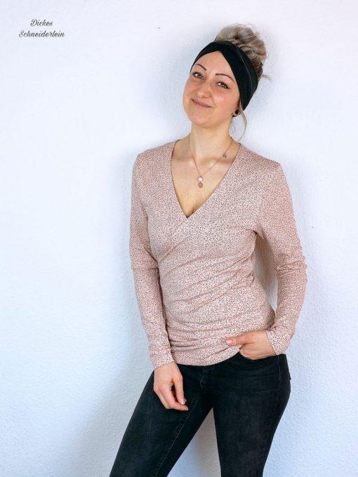 Schnittmuster Shirt Marietta Wickelshirt - 3