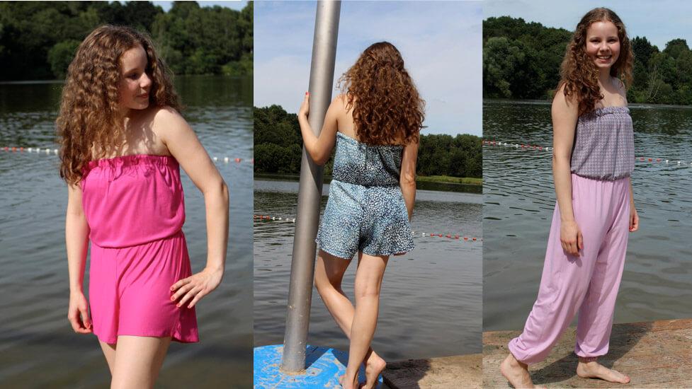 """Jumpsuit """"Anni"""" für die Großen…."""
