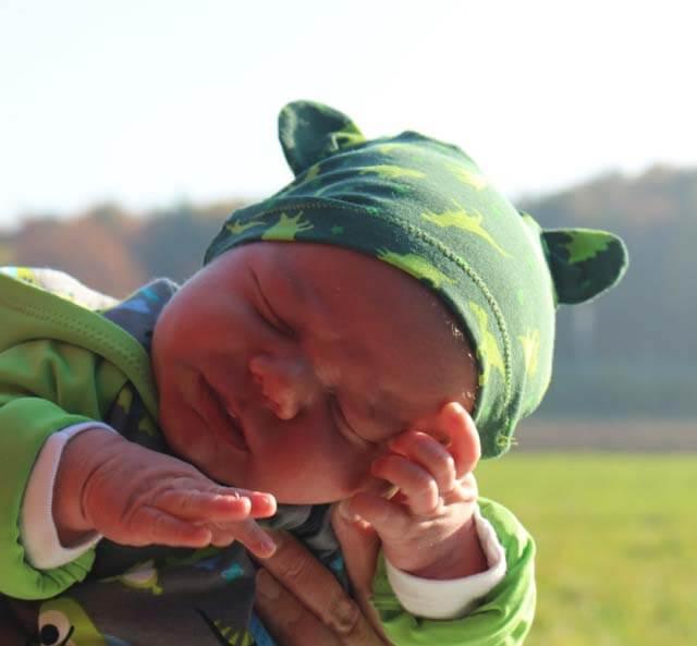 "Babymütze, Erstlingsmütze ""Julius"" nähen…"