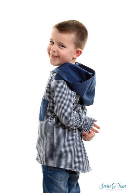 Schnittmuster Jungenshirt Gustav hemd Junge1
