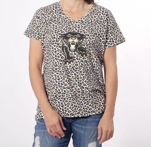Schnittmuster Nike Damenshirt Leo Print1