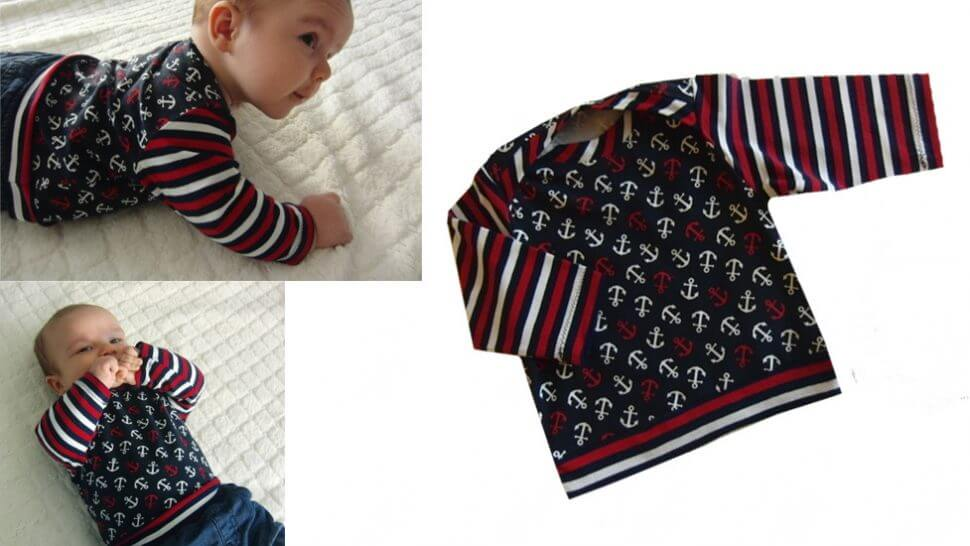 """Babyshirt """"Elias"""" nähen…"""