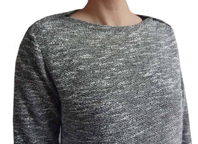 """Unisex Shirt mit amerikanischem Ausschnitt """"Elias"""" für die Großen nähen…"""