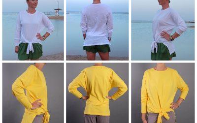 Shirt Darya nähen, Knotenshirt