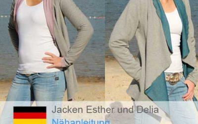 Neues Video für die Jacken Esther und Delia ist online…