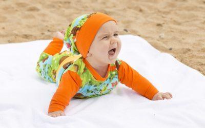 Babyshirts und Babybody nähen…