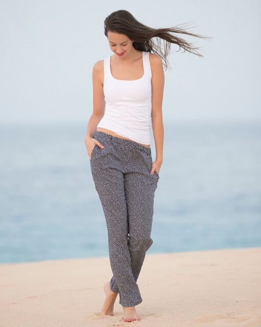 Sommerhosen, schnelle und einfache Modelle mit viel Wirkung..)