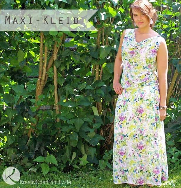 Stefanie hat unser Kleid Kathi genäht….)