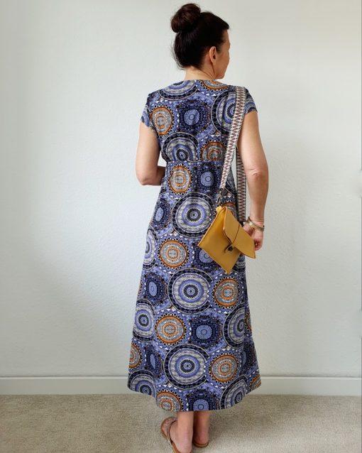 Schnittmuster Maxikleid Kleid Juli nähen Zierstoff3