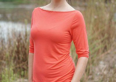 Schnittmuster-Sue-Damenshirt-nähen-Bambus-Jersey