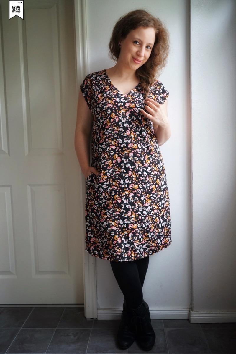 Kleid Amber Gr 158 Damengr 46 Zierstoff Einfach Nahen