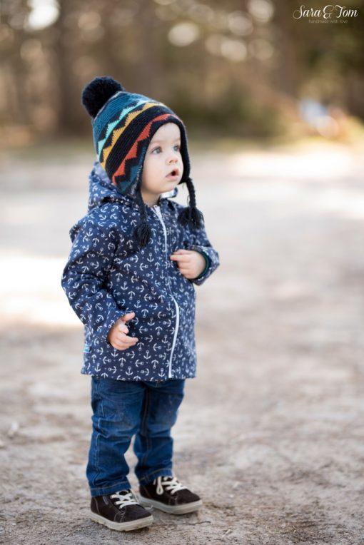 Schnittmuster Zierstoff Babyjacke Kinderjacke Gero3