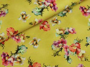 7708 Blumen Gelb - 1