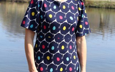 """Sommerkleid """"Melinda"""" nähen – A-Linien Silhouette"""