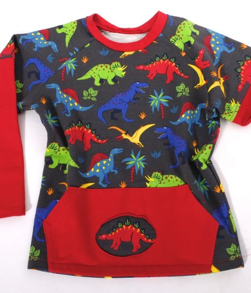 Sweatshirtstoff Dinosaurier Ben und holly1