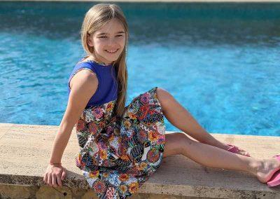 Schnittmuster Kleid Ruby Kinderkleid