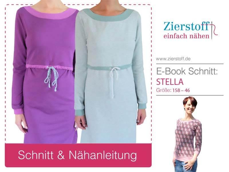 Stillkleid, Pullover, normales Kleid – ein vielseitiger Schnitt von Zierstoff!