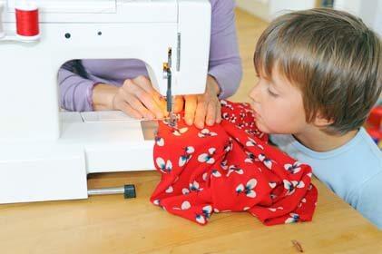 Ideen mit Kinderstoffen für Nähanfänger