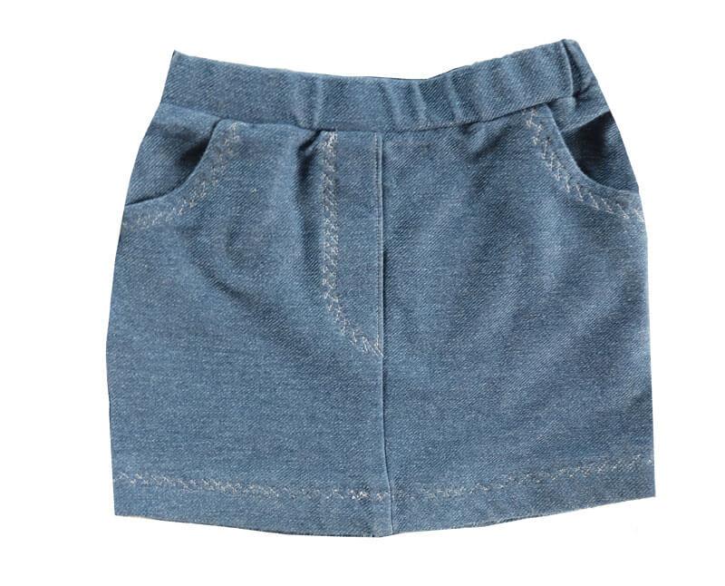 Reißverschluss in vordere Mitte einer Hose oder eines Rock nähen