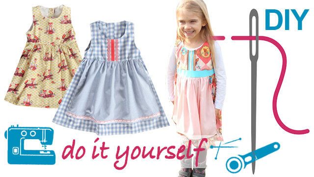 "Kleid bzw. Dirndkleid ""Judith"" nähen"