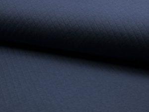 Waffelstoff-blau-Zierstoff