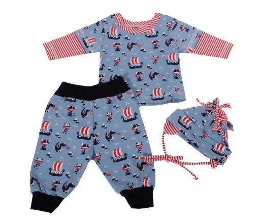 Babyset_Schnittmuster_Pumhose-Maxi_Shirt-Marco_Mütze1-Lisbeth