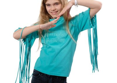 Schnittmuster Shirt Fransen Kinder
