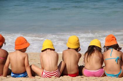 Vlieseline Hüte für Kinder