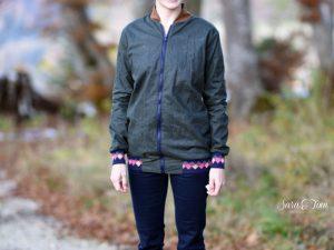 Neuer Trendstoff für Jacken und Taschen aus Oil Skin Stoffen