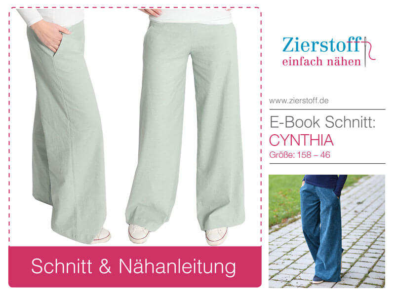 "Neues Schnittmuster, Marlenehose ""Cynthia"""