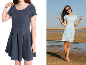 5010 Pia Schaufenster Kleid Jersey