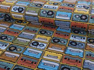 Jersey, Kassetten im Retro Look – Abverkauf