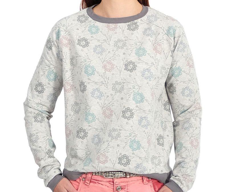 """Schnittmuster Sweatshirt """"Liska"""" endlich auch für die Damenwelt…)"""
