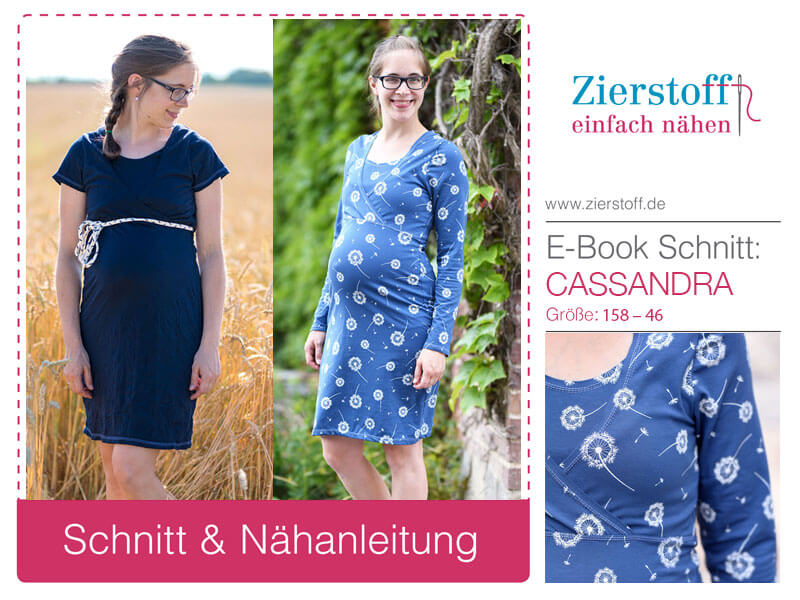 """Stillkleid, Schwangerschaftskleid """"Cassandra"""""""