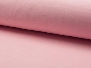Nicki, kuscheliger Samt, unifarben Rosa – Abverkauf