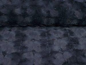 Chamonix Blau Grau Kuschelstoff Hilco